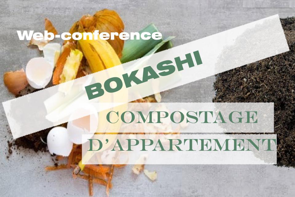 BOKASHI compost appartement zero dechet nice web conference
