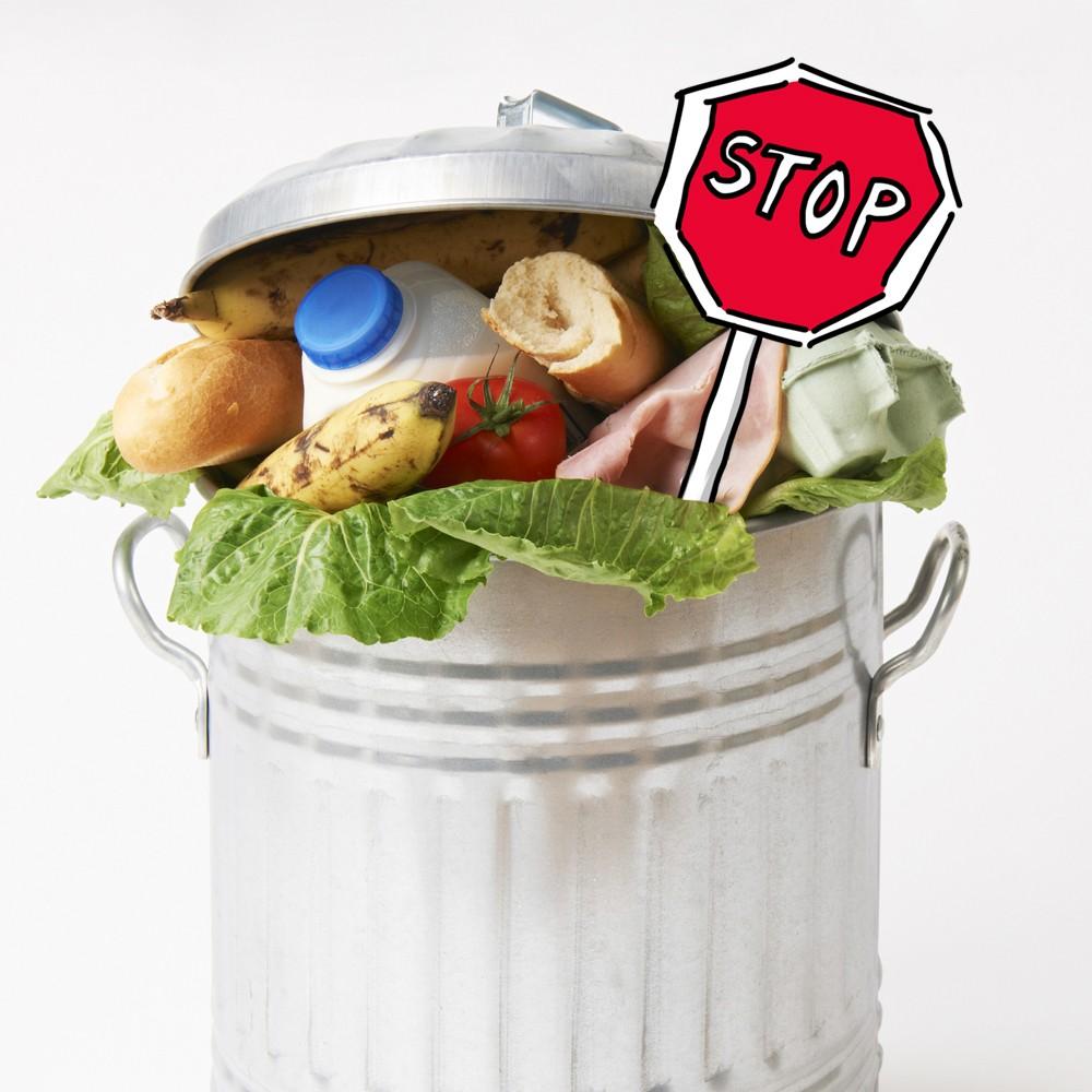 poubelle gaspillage